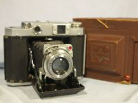 '     1947 Mamiya 6 Version IV  -CASED- ' Mamiya 6 Version IV Vintage Folding 6X6 Rangefinder Camera c/w Zuiko Lens  -CASED-  £79.99